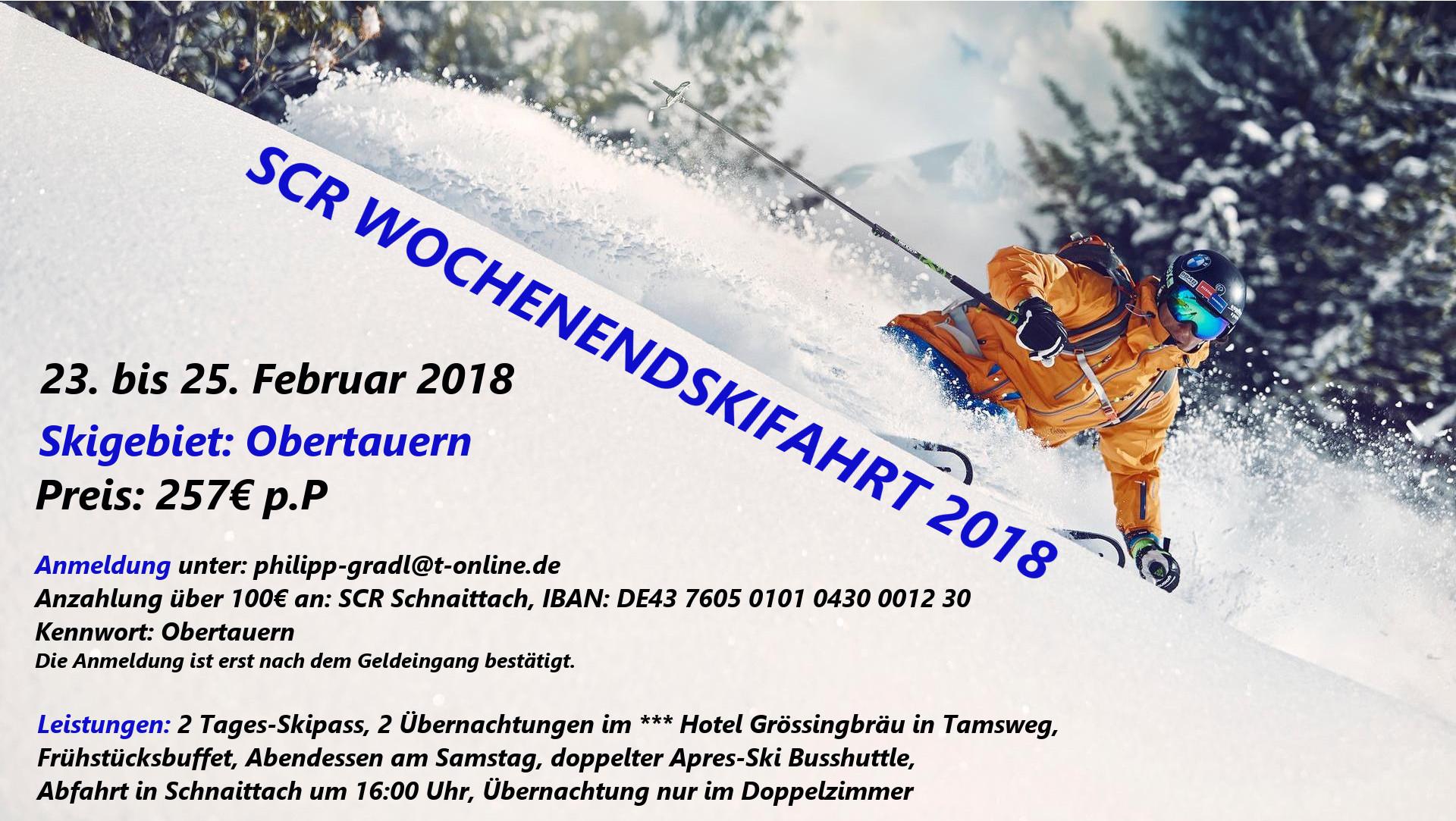 Flyer Obertauern 2018